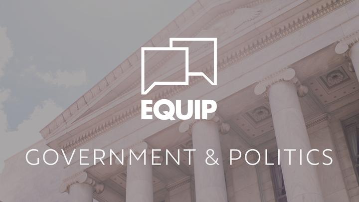 EQUIP: Government and Politics  logo image
