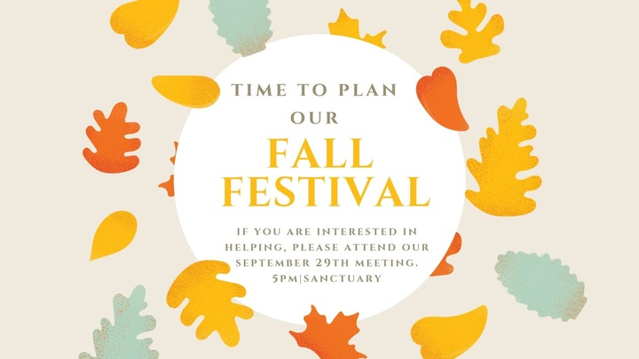 Fall Festival - Volunteer logo image