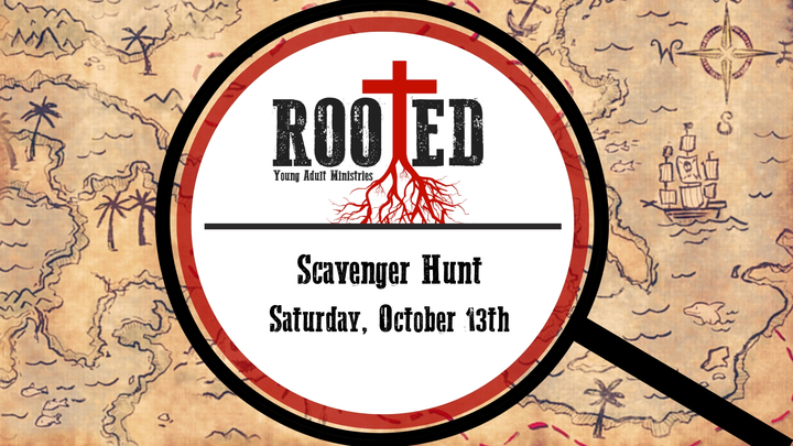Rooted: Scavenger Hunt - Ages 18-30 logo image