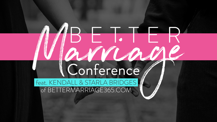 Better Marriage Conference logo image