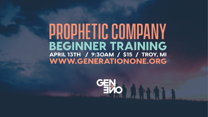 Prophetic Company Beginner Training logo image