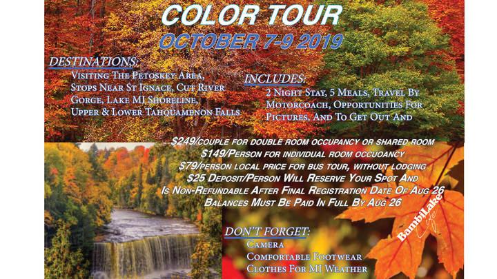 Fall Color Tour logo image