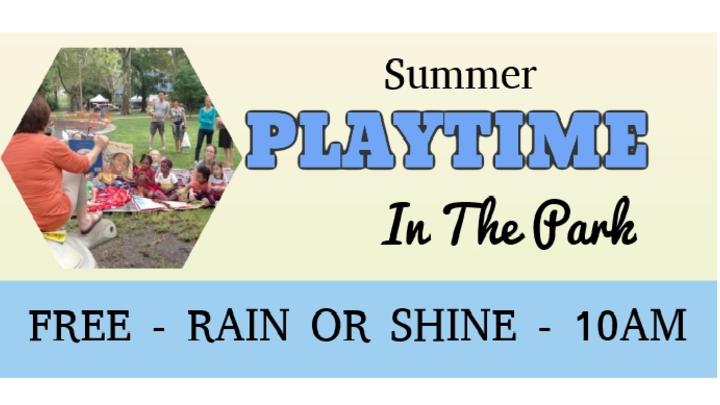 Playtime in the Park logo image