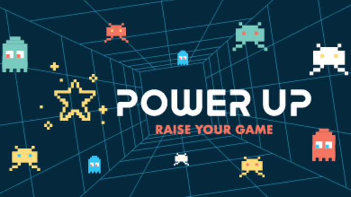 Vacation Bible School 2019 - Power Up logo image