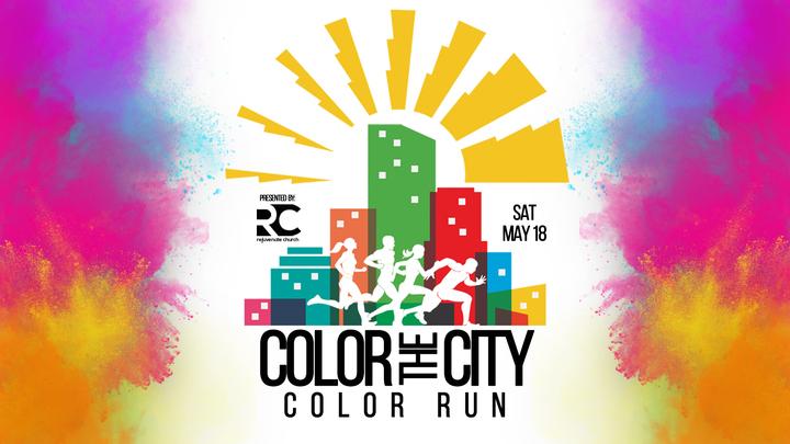 Color The City Color Run logo image