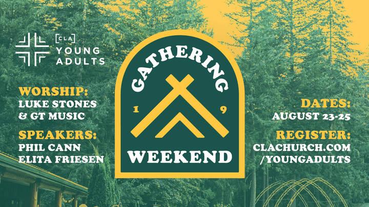 The Gathering Weekend 2019 logo image