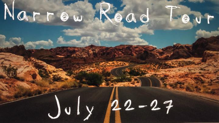 Narrow Road Tour 2019 logo image