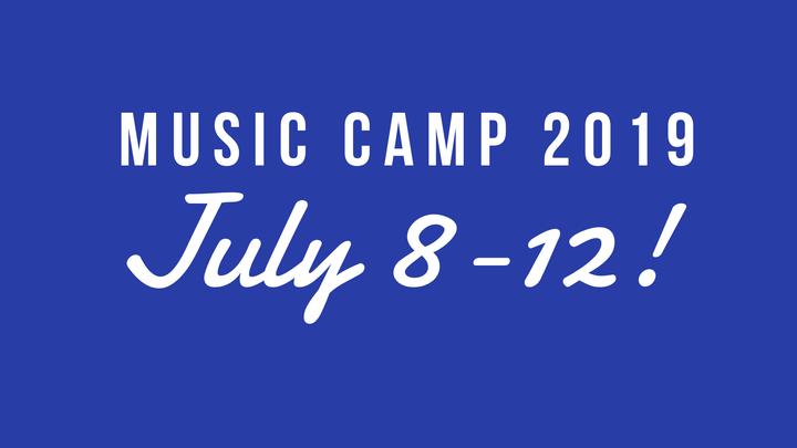 Music Camp 2019 logo image