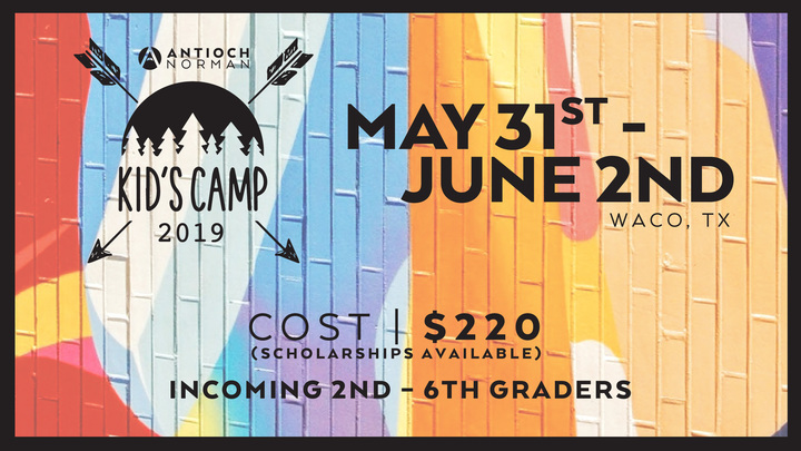 Antioch Kids Camp logo image
