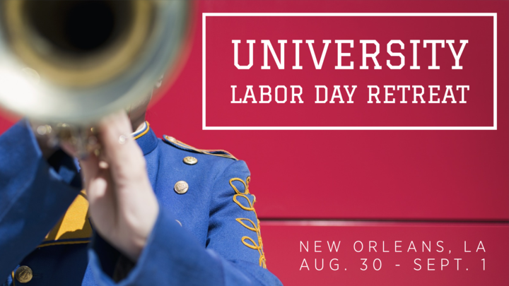 University Labor Day Weekend Retreat logo image