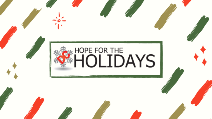 Volunteers for Hope for the Holidays 2019 logo image