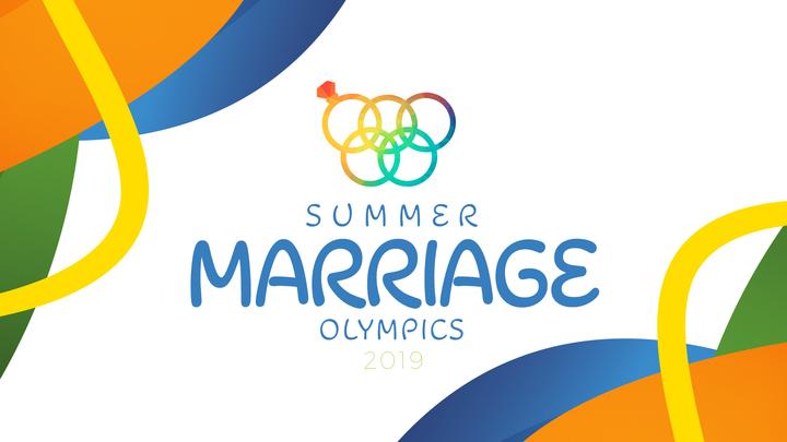 Summer Marriage Olympics logo image
