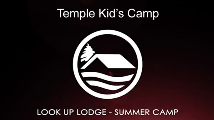 Temple Kids Camp Look Up logo image