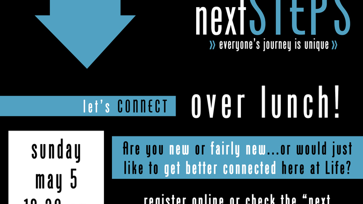 Medium next steps lunch facility poster 1