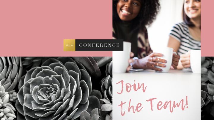 She Is Conference Volunteer Interest Form logo image