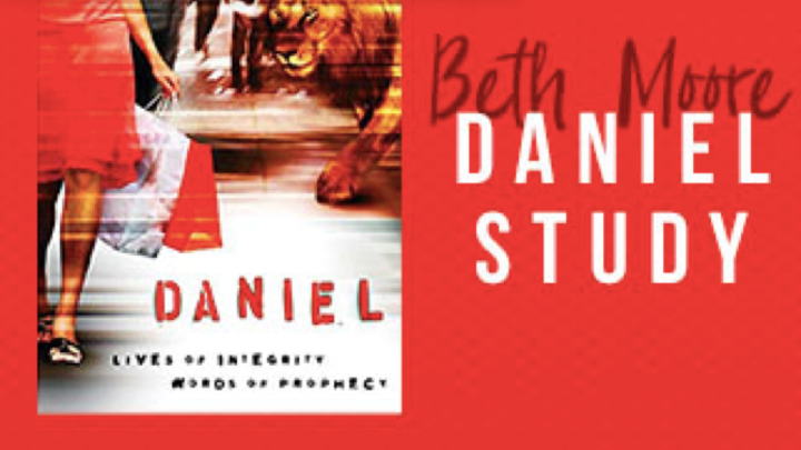Bible Study by Beth Moore ~ Daniel:  Lives of Integrity, Words of Prophecy logo image