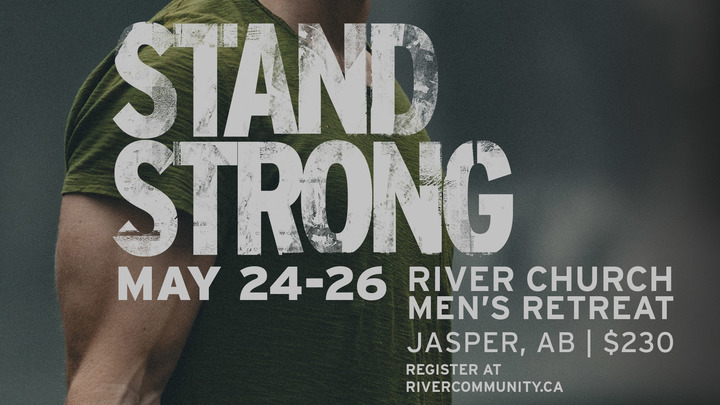 STAND STRONG MEN'S RETREAT  logo image