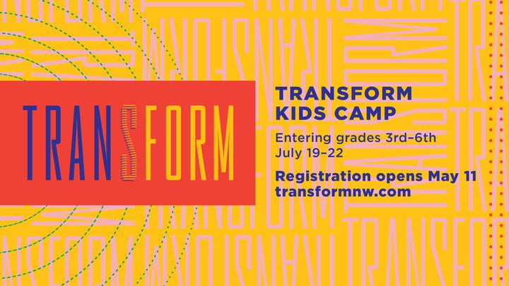 2019 Transform Kids Camp - Student Registration logo image