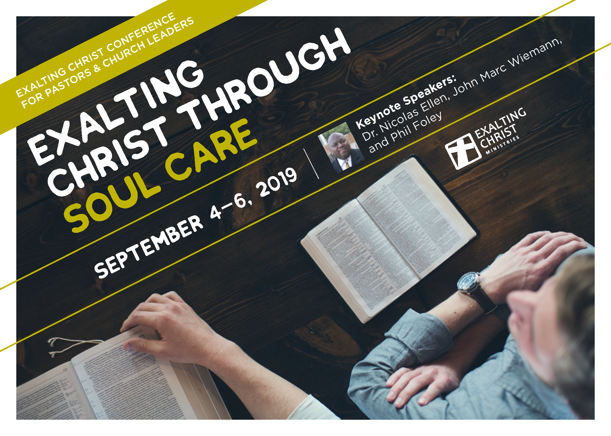 2019 Exalting Christ Conference for Pastors & Church Leaders