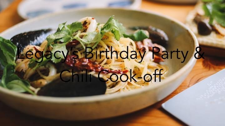 Legacy's Birthday Party & Chili cook-off logo image