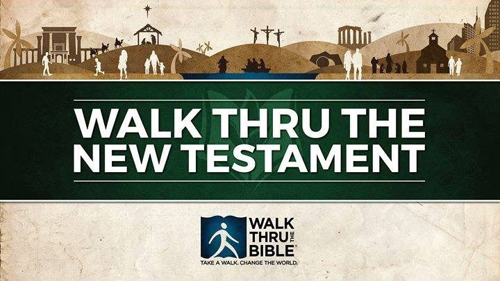 Walk Through The Bible New Testament Classic logo image