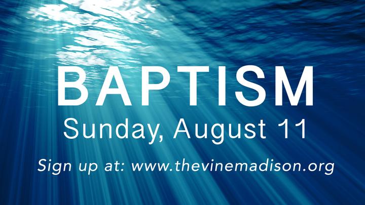 Baptism August 11 logo image