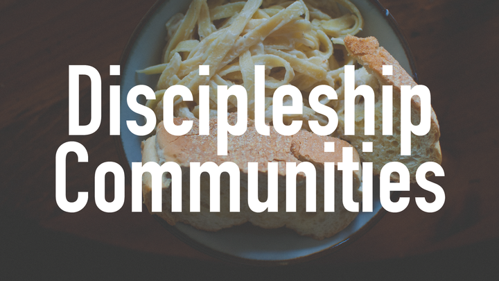 2019 Fall Discipleship Communities logo image