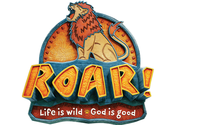 VBS 2019: Roar - Life is Wild - God is Good logo image
