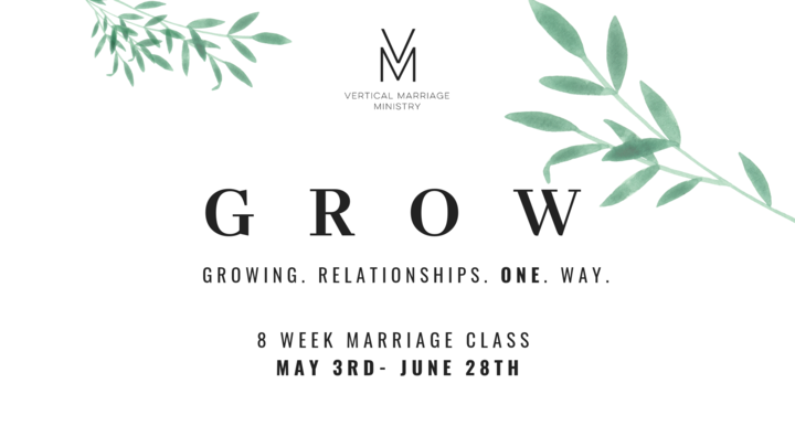 GROW - Marriage Ministry Bible Study logo image