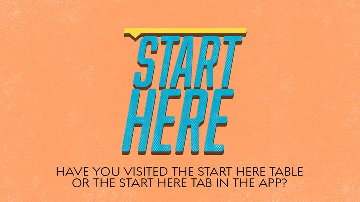 Start Here Class logo image