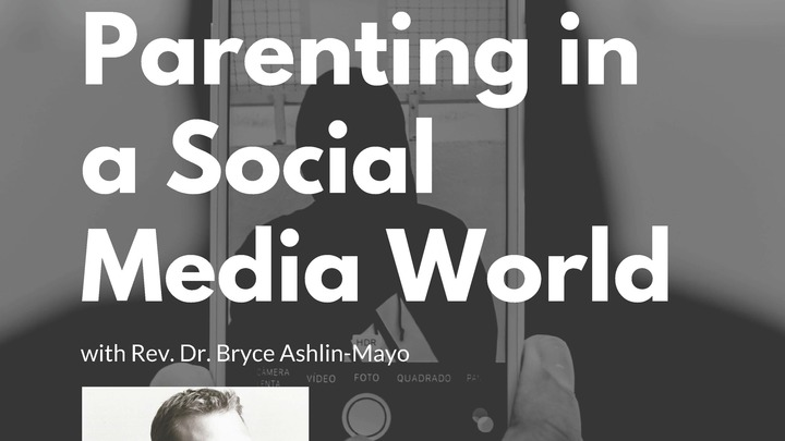 Parenting in a Social Media World logo image