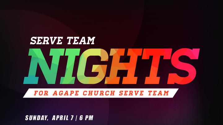 SERVE Team Night logo image