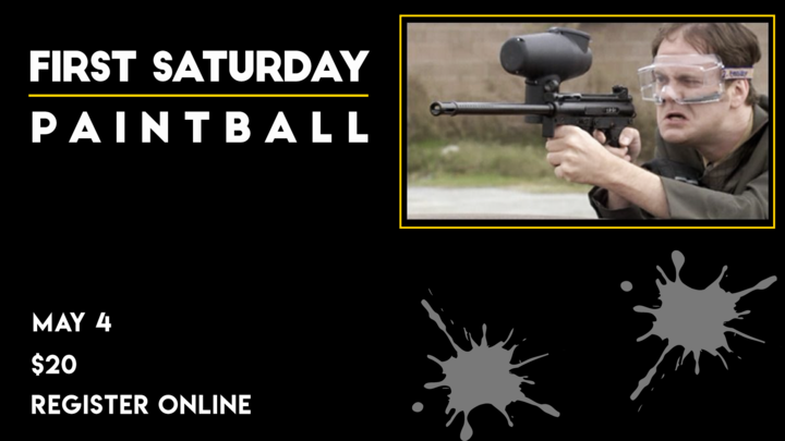 Medium first saturday paintball