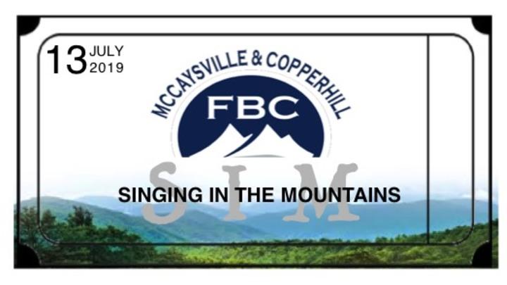 Singing in the Mountains logo image