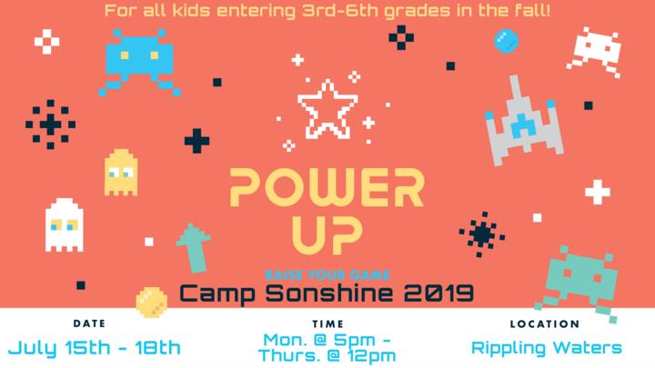 Camp Sonshine 2019 logo image