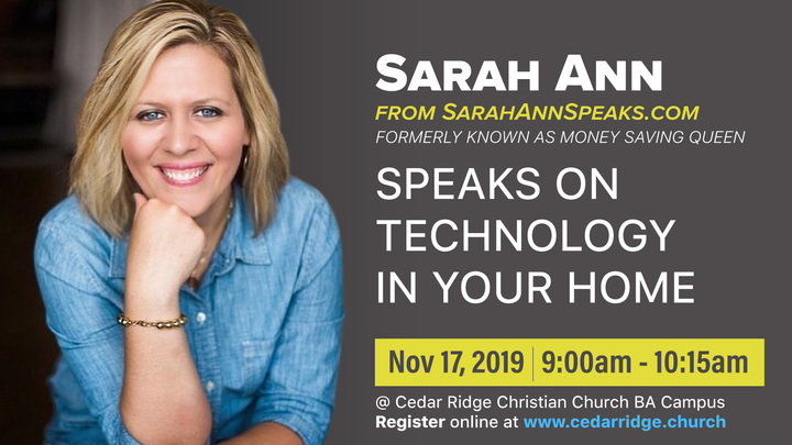 Partnering with Parents session with Sarah Ann logo image