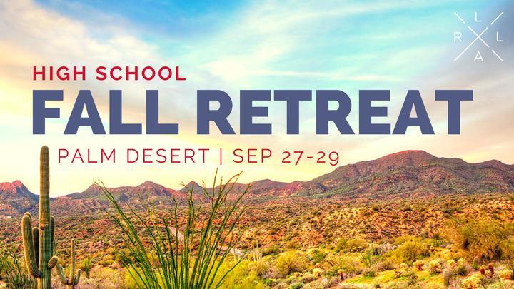 HS Fall Retreat 2019 | Palm Desert logo image