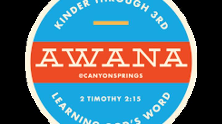 AWANA Fall 2019 logo image