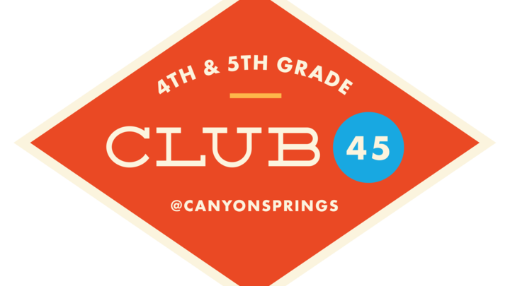 CLUB 45 Fall 2019 logo image