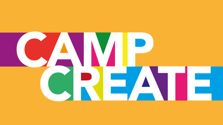 Camp Create Middle or High School Volunteer Registration logo image