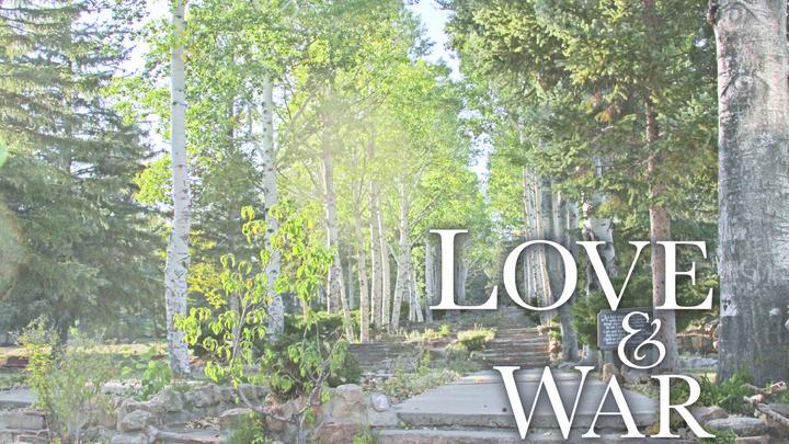 Love & War Retreat Sept. 2019 logo image