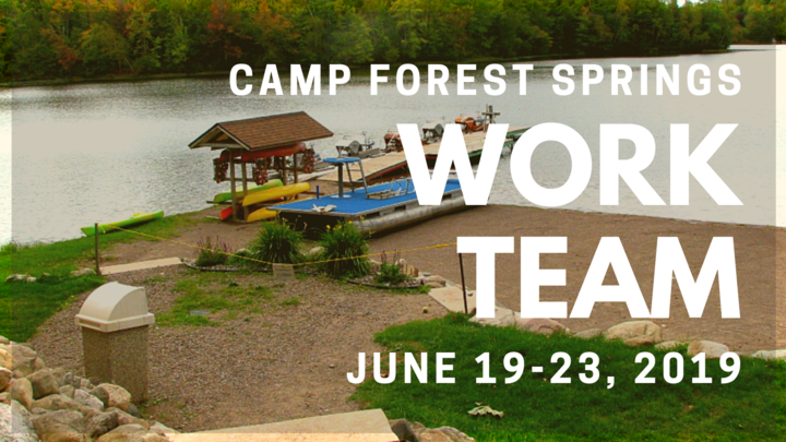 CAMP FOREST SPRINGS WORK TEAM logo image