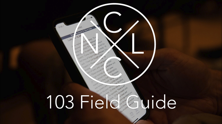 New Life Orientation 103 - The New Life Field Guide logo image