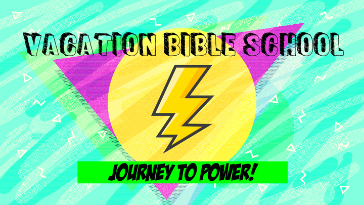 Vacation Bible School - Journey to Power logo image