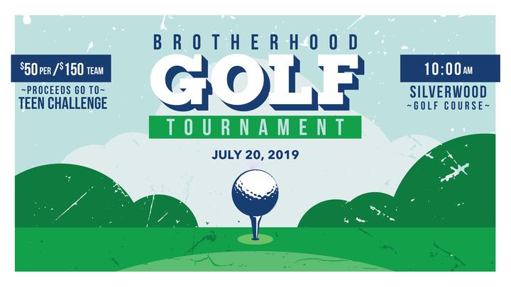 Brotherhood Golf Tournament- Teen Challenge Fundraiser logo image