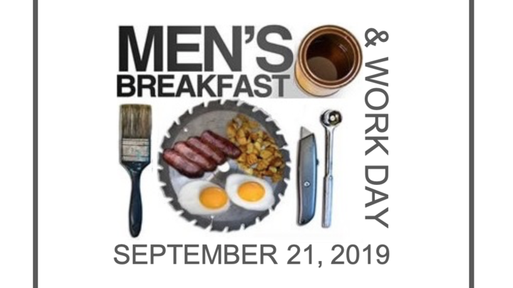 Men's Ministries Breakfast and Work Day logo image
