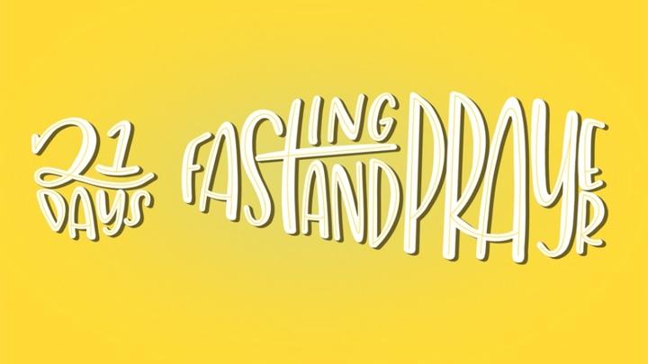 21 Days of Fasting & Prayer logo image
