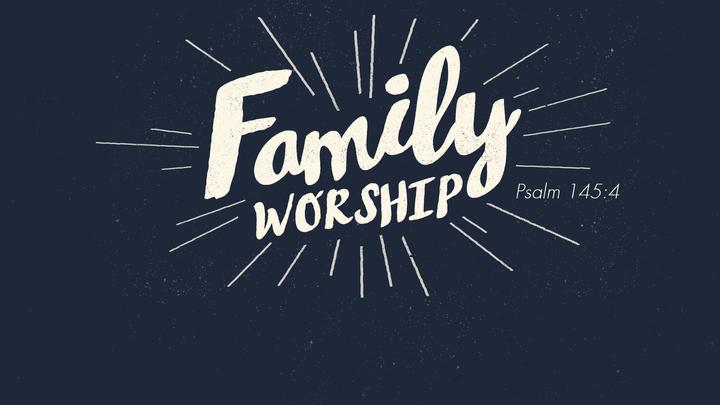 Family Worship Service logo image