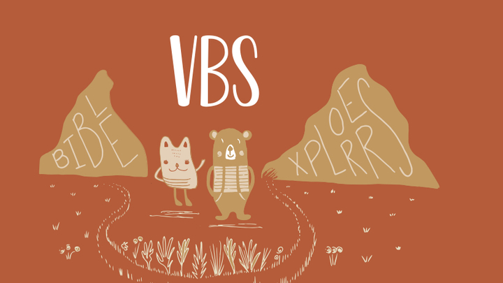 Cathedral Kids VBS (Vacation Bible School) logo image