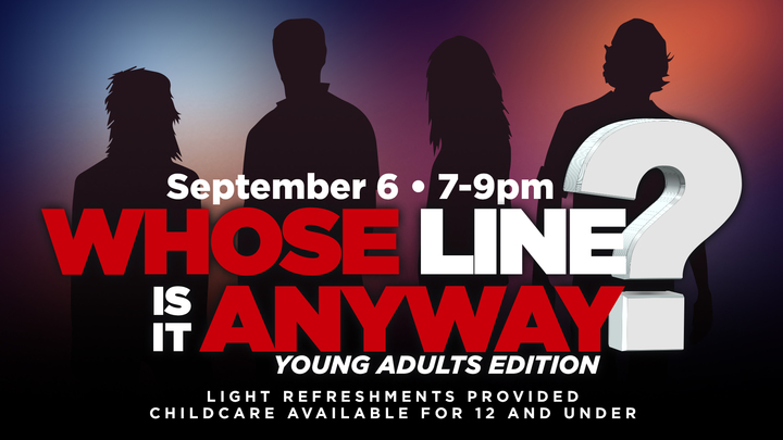 Whose Line is it Anyway? Young Adults Edition  logo image